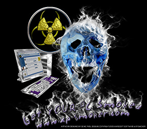 XP smoker T Shirt Design