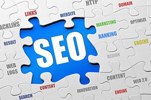 seo marketing keyword phrase puzzle